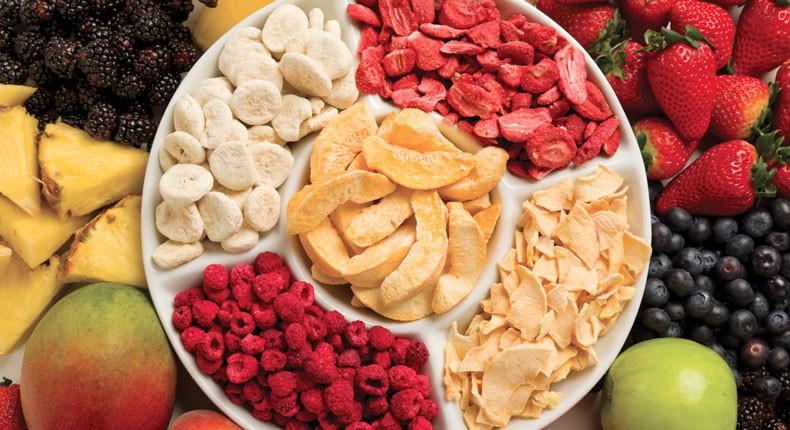 چیپس میوه صادراتی